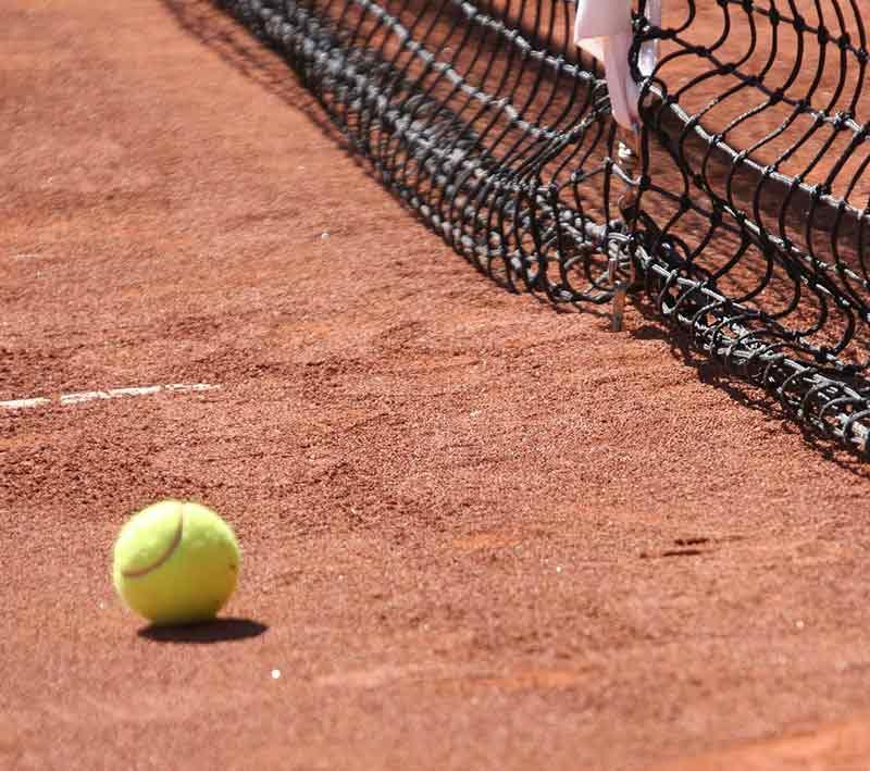 Terrain de tennis - 2eme service