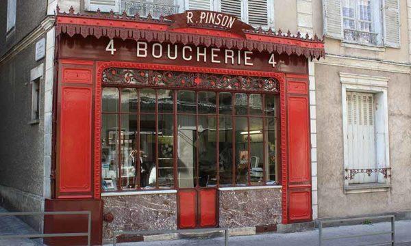 Musifiction-rouge-Chartres_-_Boucherie_Pinson_-_Façade-800x535px